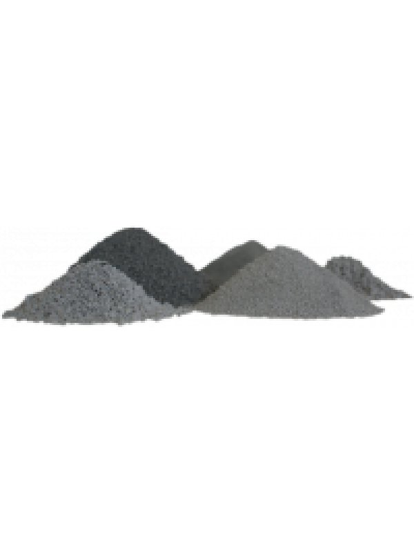 Classified raw perlite